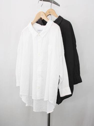 Ordinary fits BARBER SHIRTS Wガーゼ ladies