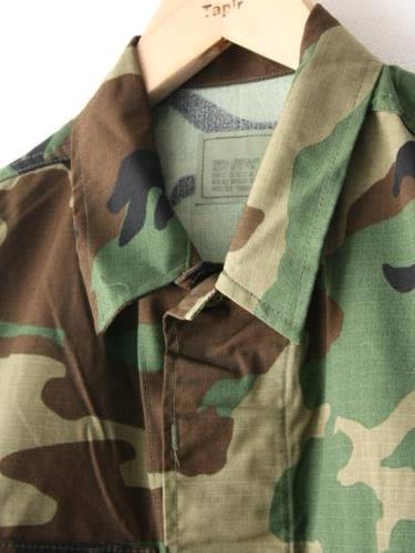U.S.ARMY BDU JACKET DEADSTOCK CAMO unisex