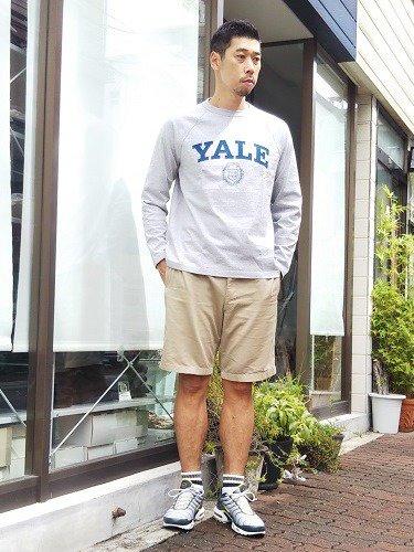 Champion ラグランロングスリーブTee T1011 【YALE】 mens