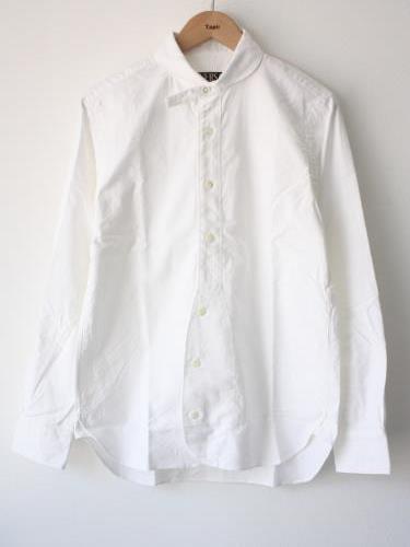 HAVERSACK オックスフォードラウンドカラーシャツ unisex