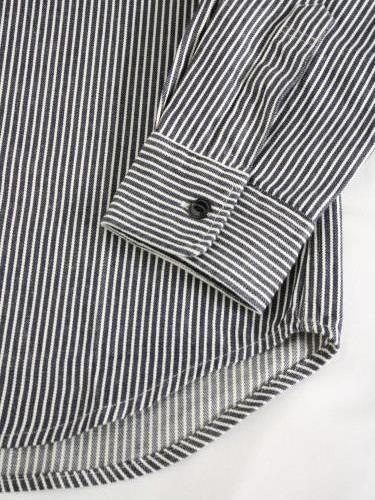 BIGMIKE ヒッコリーワークシャツ mens