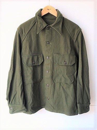 アメリカ軍 ウールシャツ DEADSTOCK mens