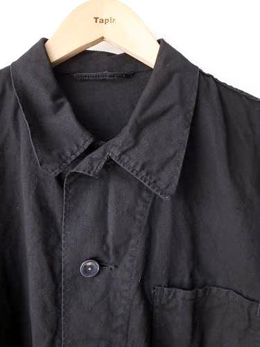 ドイツ軍 ワークジャケット BLACK DEADSTOCK unisex