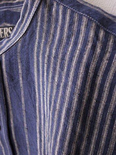 HAVERSACK リネンバンドカラーシャツ mens