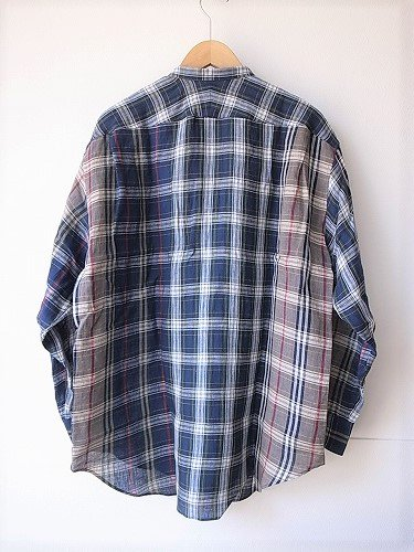 HAVERSACK ATTIRE リネンチェックシャツ mens