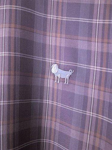weac. パグちゃんシャツ CHECK unisex