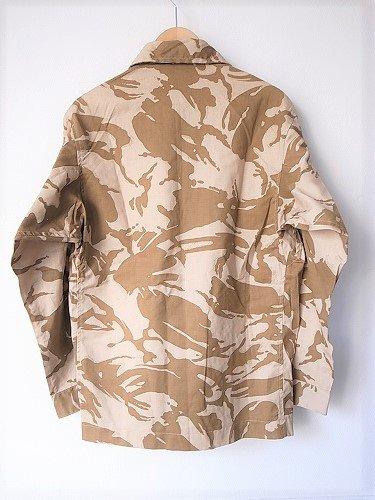 イギリス軍 コンバットジャケット デザートカモ DEADSTOCK unisex