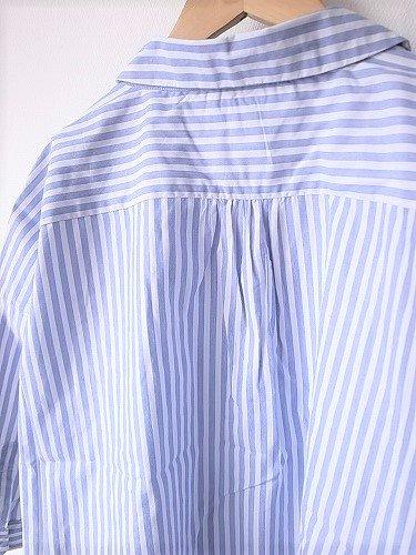 Ordinary fits BARBER SHIRTS STRIPE ladies