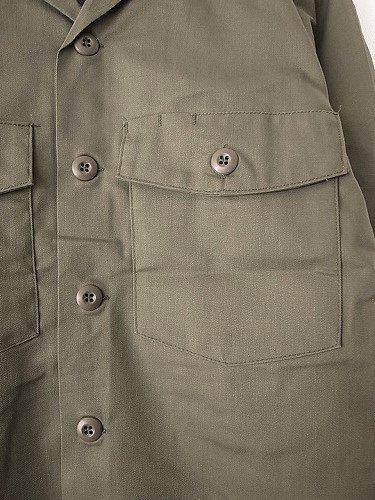 U.S.ARMY ユーティリティシャツ DEADSTOCK unisex