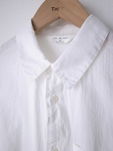 STILL BY HAND ベーシックシャツ unisex