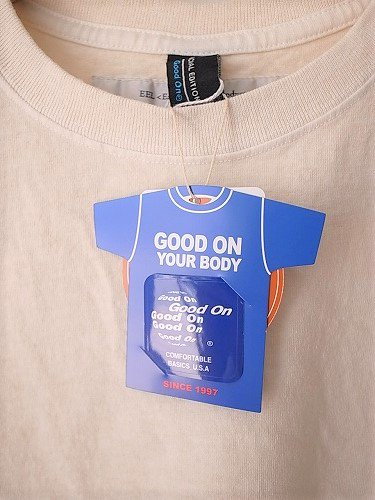 EEL products ユーティリTee × Good On unisex