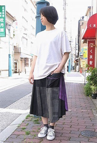 tamaki niime 玉木新雌 only one chotan skirt ladies