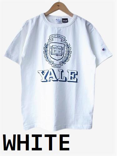 Champion カレッジプリントTee T1011 【YALE】 unisex
