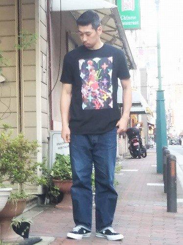 R MAX CLOTHING Micheal Jordan プリントTシャツ mens