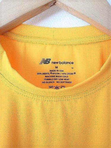 US.NAVY NEW BALANCE トレーニングTシャツ unisex