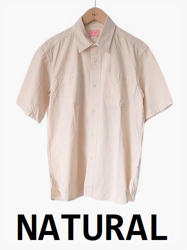 BIGMIKE 半袖シャンブレーシャツ mens
