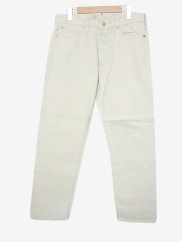 Ordinary fits 5ポケットアンクルデニム WHITE unisex