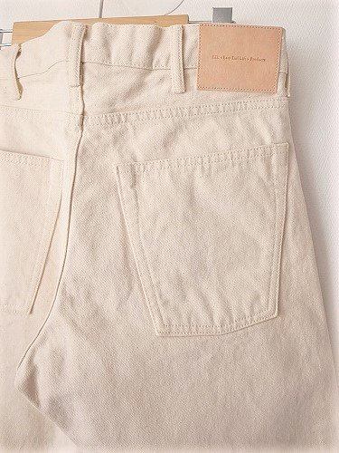 EEL Products 砂浜デニム NATURAL unisex
