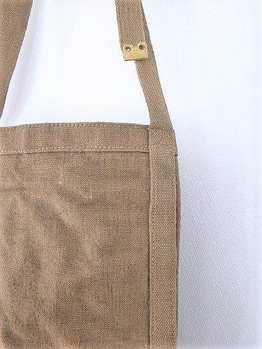 イタリア リネンメールバッグ 60s unisex