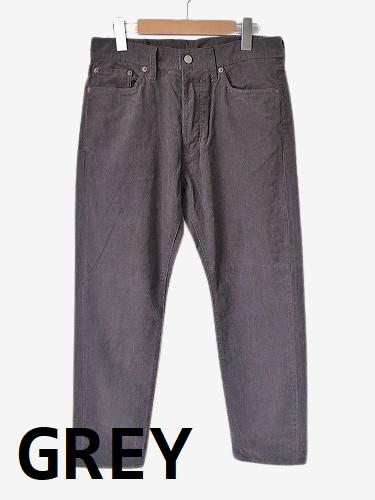 Ordinary fits 5ポケットアンクルパンツ コーデュロイ unisex