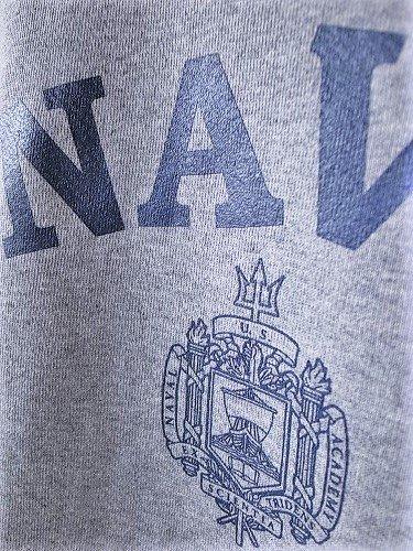 SOFFE US.NAVY スウェットパーカー GREY mens
