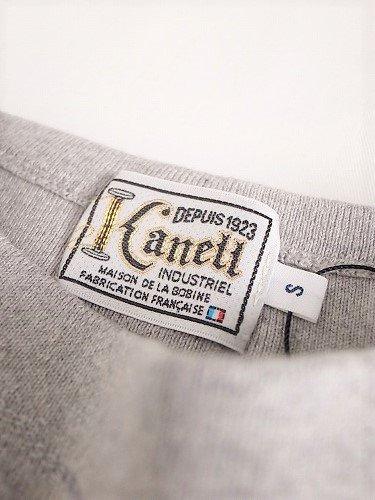 KANELL バスクシャツ ビンテージリブ ソリッド unisex