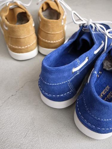 《CAZIFES online対象商品》  WANDER SHOES スウェードデッキシューズ mens