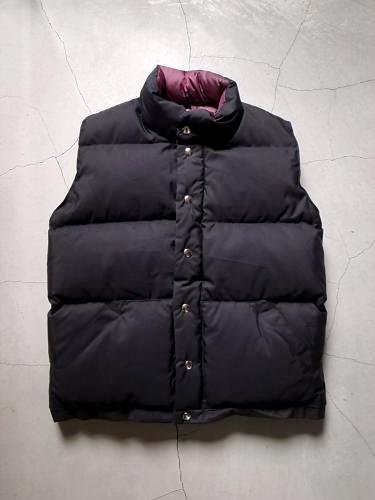 《30% OFF》 CRESCENT DOWN WORKS ITALIAN VEST  unisex
