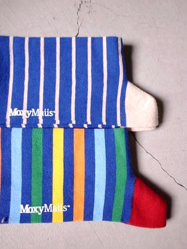 Moxy Maus ソックス ボーダー  mens