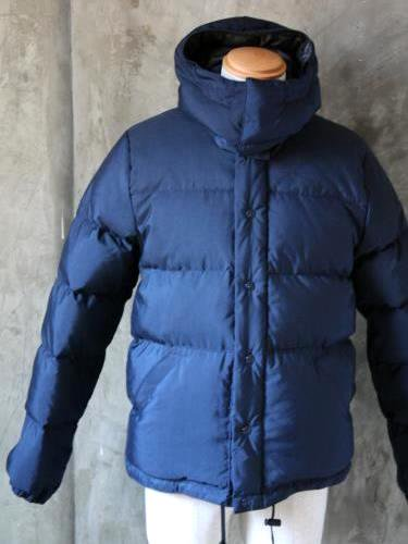 CRESCENT DOWN WORKS ダウンジャケット navy mens