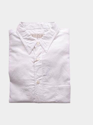 【Tapir別注】 HAVERSACK コンパクトオックスシャツ white mens