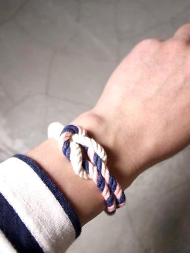 KIEL JAMES PATRICK 【TRITON COLLECTION】 ロープブレスレット unisex