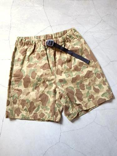 《30% OFF》 COOCHUCAMP HAPPY SHORTS CAMO unisex