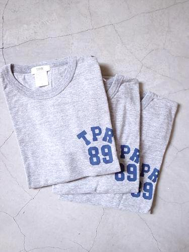 《30% OFF》 TPR 89プリントTee HEATHER GREY unisex