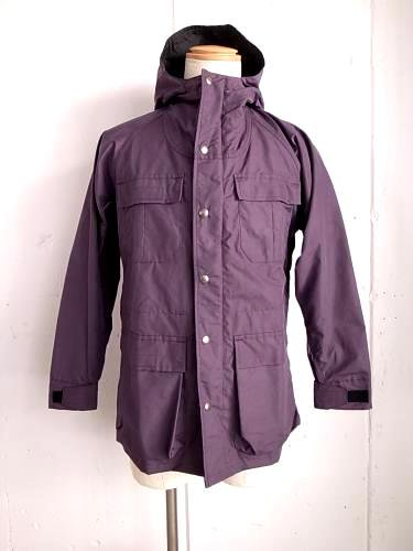 SIERRA DESIGNS マウンテンパーカー purple×black mens