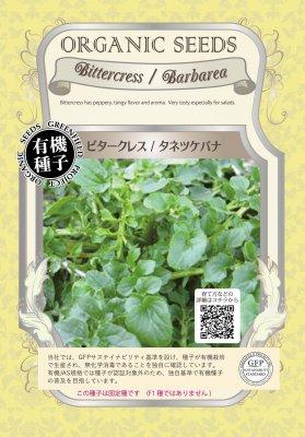 ビタークレス/タネツケバナ(小袋:1.00g)【有機種子・固定種】(大袋サイズも有ります)