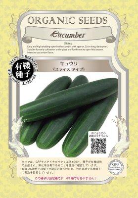 キュウリ(小袋:0.70g)【有機種子・固定種】(大袋サイズも有ります)