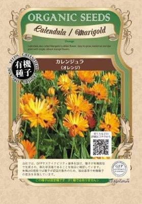 カレンジュラ(小袋:1.20g)【有機種子・固定種】(大袋サイズも有ります)