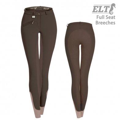 ELT キュロットFSL2 尻革 [レディース]  女性用 乗馬ズボン パンツ(ブラウン 茶)