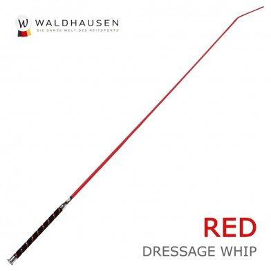 ベロアグリップ 長鞭 ロングムチ LWB1(赤レッド) Waldhausen ムチ