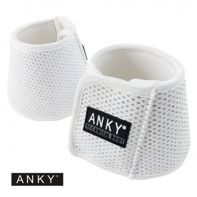 ANKY テクニカルベルブーツ ABB1 わんこ 左右2点セット(白 ホワイト)