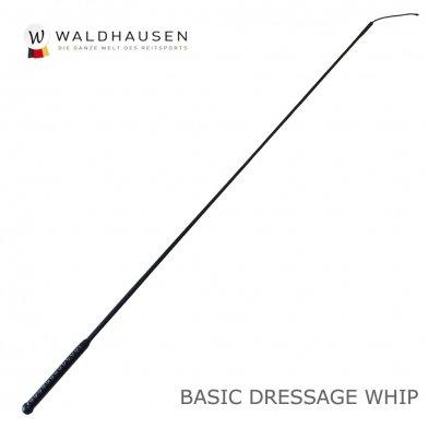 ベーシック長鞭 ロングムチ LWC1(黒ブラック) Waldhausen ムチ