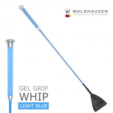 ゲルグリップ 短鞭 SWB4(水色) Waldhausen 50cm/65cm