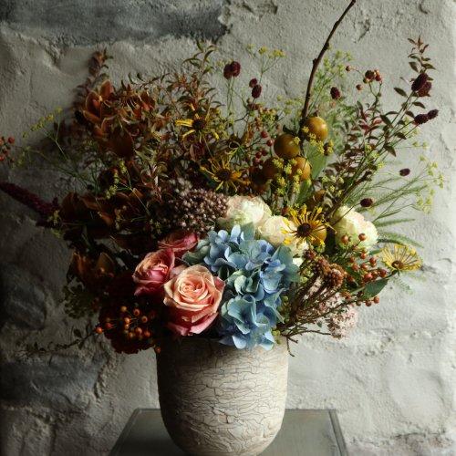 定期便 お誕生日や記念日、クリスマス、お正月のブーケ花束orアレンジメント 〈3か月毎〉
