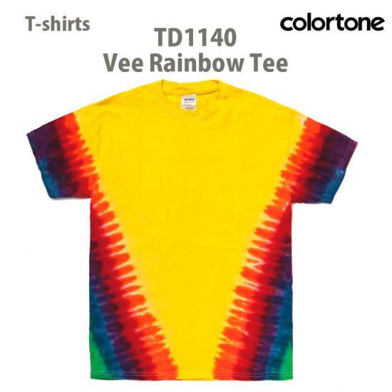 TD1140 vee Rainbow Tee