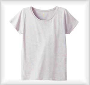 LUCCA 3.8oz.ラウンドネックTシャツ