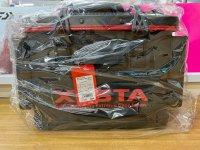 ゼスタ タックルバッカン 36cm ブラック×レッド