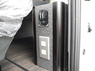 NV350 サブバッテリーシステム施工