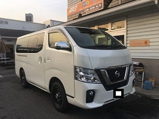 NV350      ホワイトパール     京都府 M様