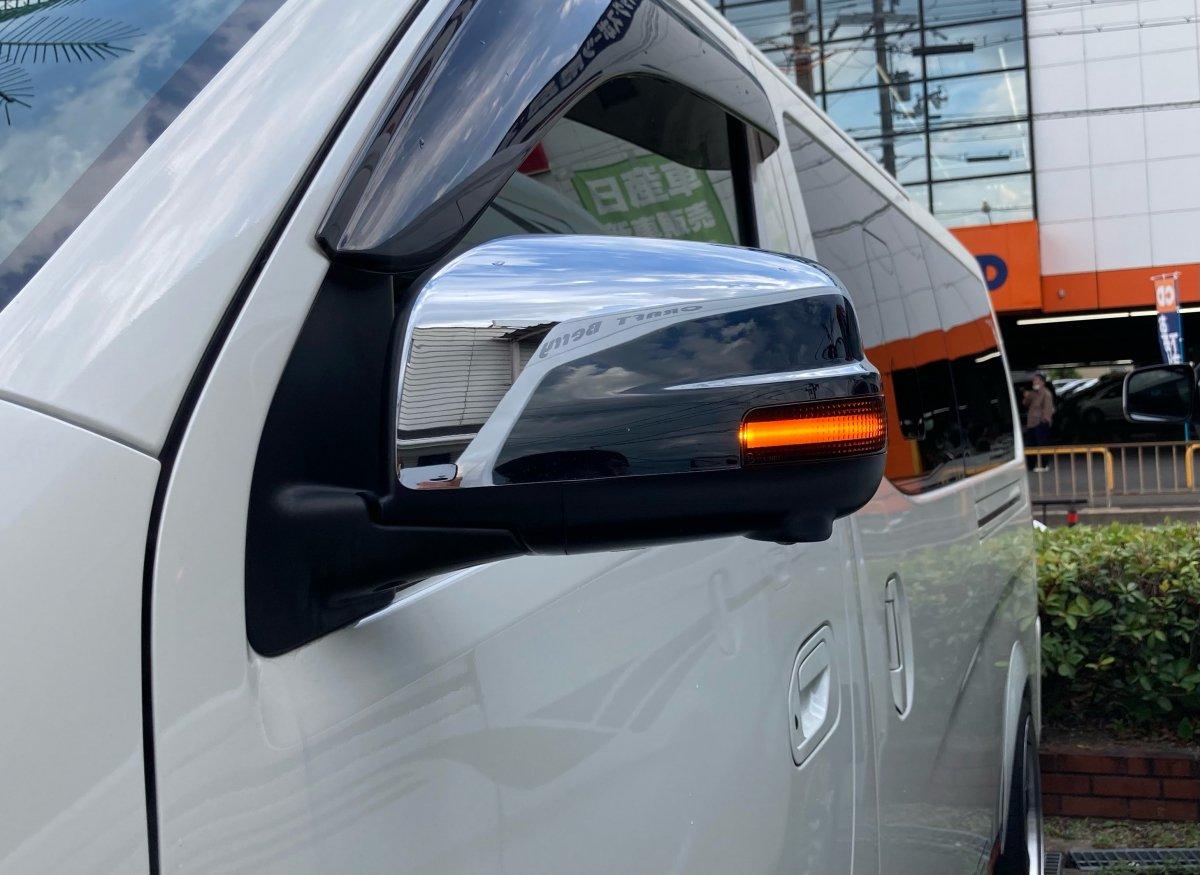 ドアミラーシーケンシャルウインカー LED